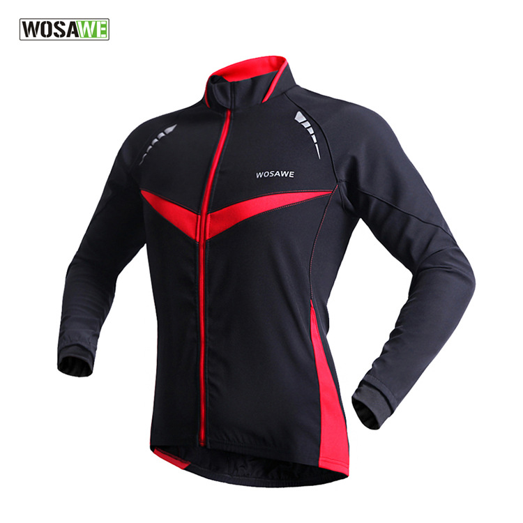 0b0b2eb18 WOSAWE Winter Cycling Jacket Men Waterproof Windproof Warm Outdoor Sports  Clothing Running Jersey Bike Bicycle Jacket Coat-in Cycling Jackets from  Sports ...