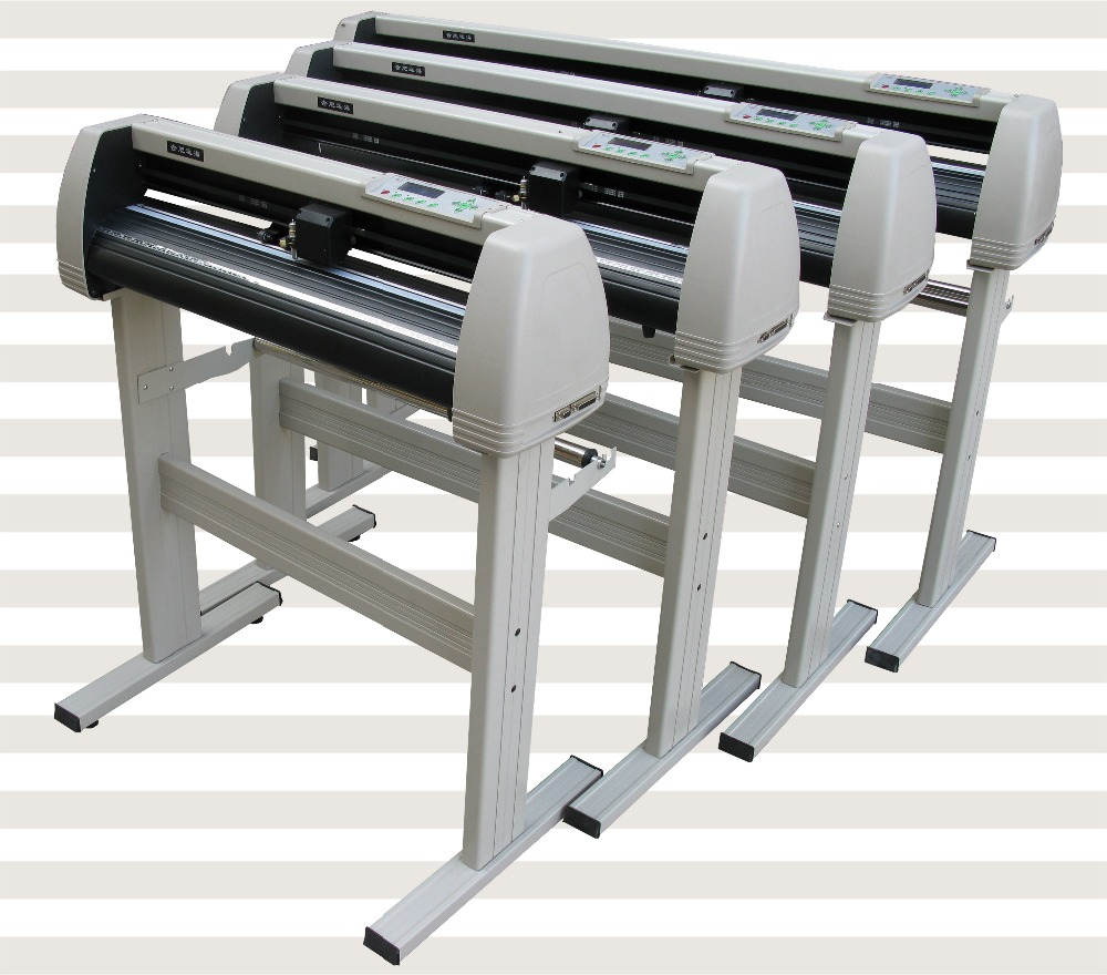 2017 870mm 720mm1100mm1350mm Vinyl Sign Art Sign Cutting Plotter with Aircut Software free shipping