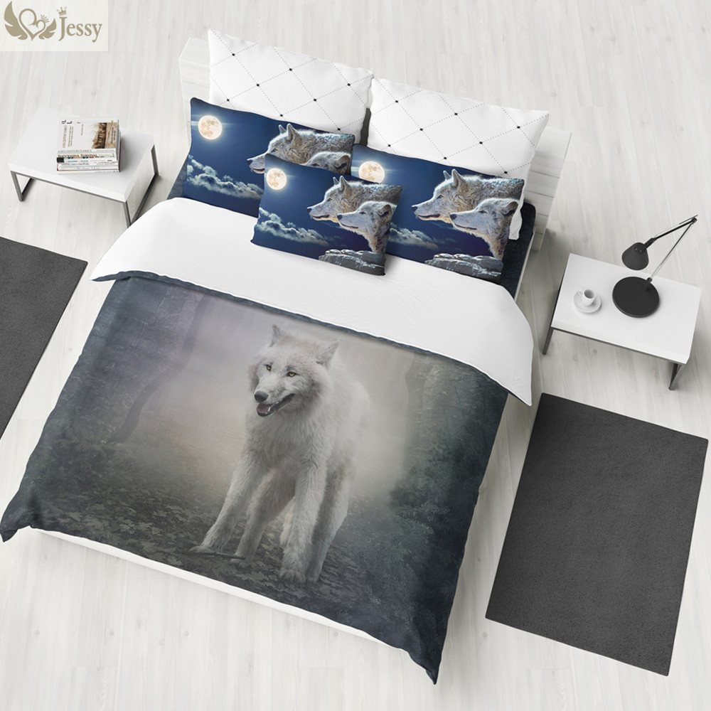 2018 New Luxury Moon 100 Polyester Galaxy Bedding Sets