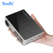 Buy online Pocket Home Theater Projectors 2500LM LCD Projector 1280*800p Full HD DLNA Portable Wireless Beamer Projector