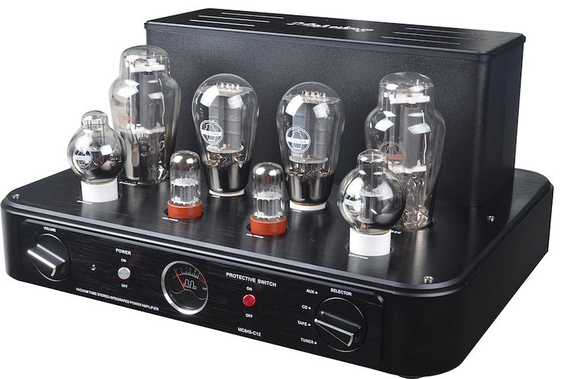 Meixing MingDa MC845-C12 Tube Amplifier HIFI EXQUIS Integrated Single-Ended 300B-N Push 845 Lamp Amp meixing mingda mc368 b kt88 push pull tube amplifier hifi exquis high power 50wx2 integrated lamp 6n8p 6sn7 amp