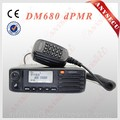 New arrived UHF 400-470MHz dPMR digital walkie talkie,Kirisun DM680 digital&simulative car radio station