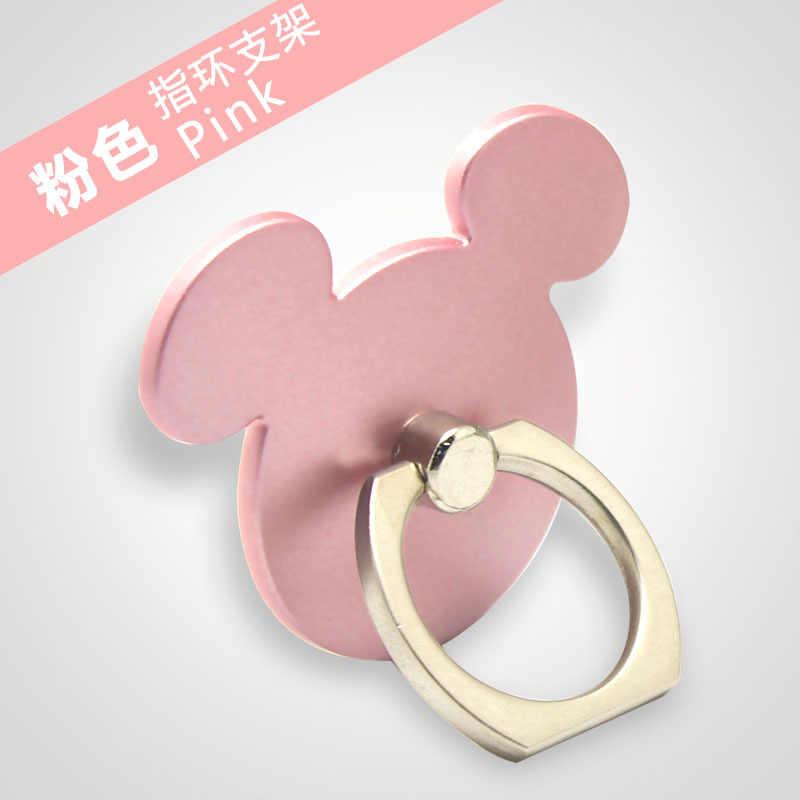 360 stopni Ring Finger Cute Mickey Design na telefon komórkowy z postacią z kreskówki stojak na smartfona na wszystkie telefony luksusowe modele do pary