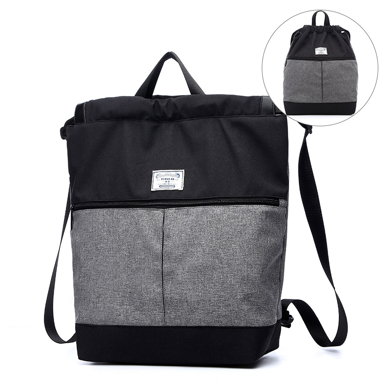 Berømte Brand Mænd Laptop String Rygsæk Skole Bag Rejser Casual Kvinder Tilbage Pack Drawstring Rygsække til Boy Girl