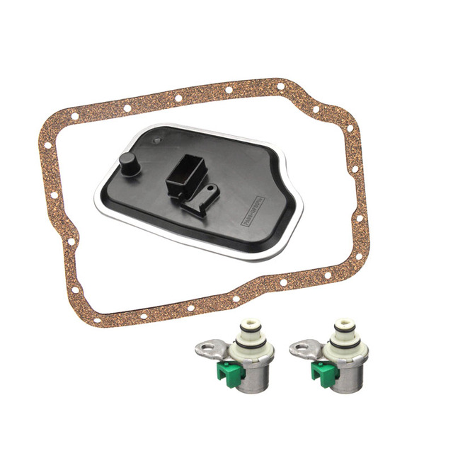 OEM 4F27E FN4AEL D48421A D46950 FN4A EL 4 Speed Transmission Shift Solenoid  Kit Filter Service Kit for Ford & Mazda 99+-in Automatic Transmission &