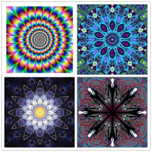 New diamond embroidery 5D diy full kaleidoscope painting square Christmas home decorations L722