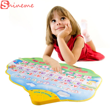 Russian language alphabet books musical kids children play mat electronic newborn learning educational baby toys hobbies