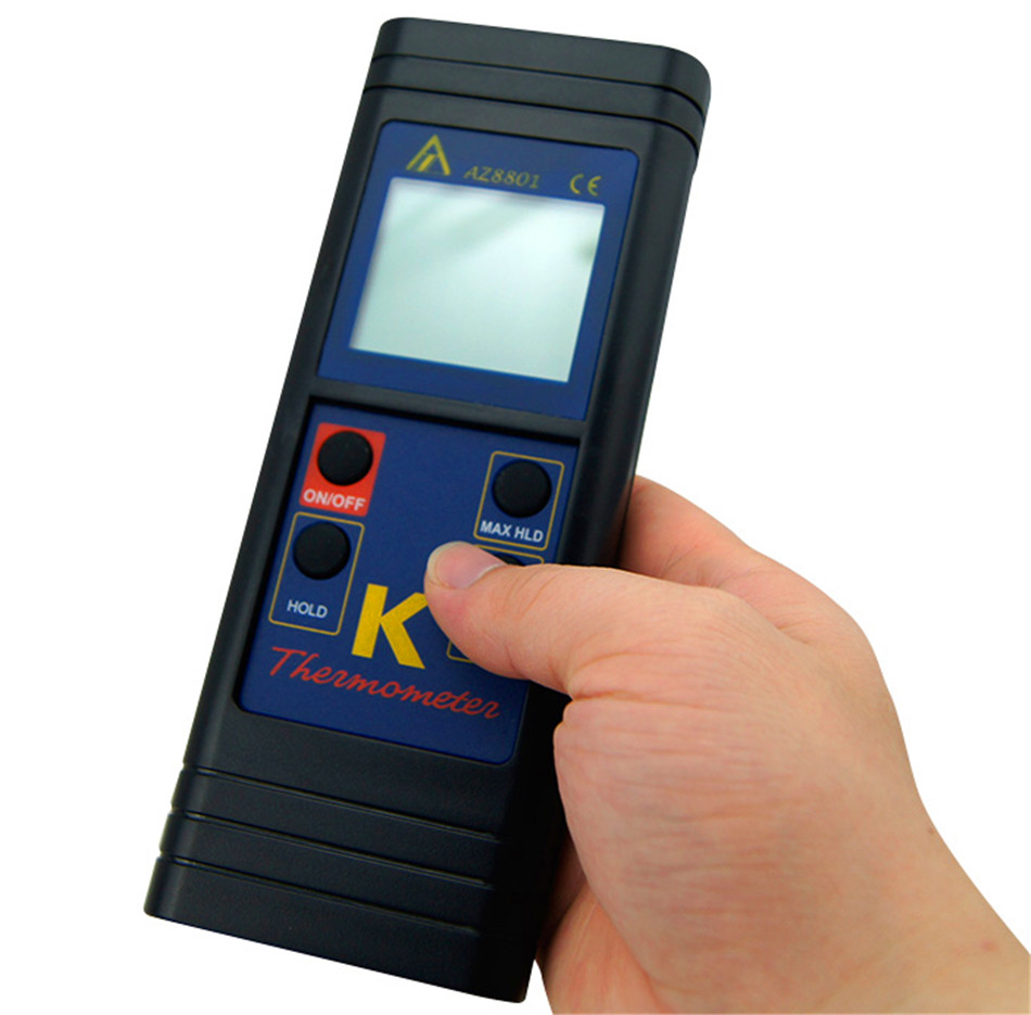 NEW K-Type Digital thermometer Single K type Thermocouple input Handheld K thermometer