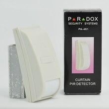 Detector PIR de Mini cortinas, sistema de seguridad, sensor de PA 461, cableado movimiento, alarma antirrobo, 4 unidades