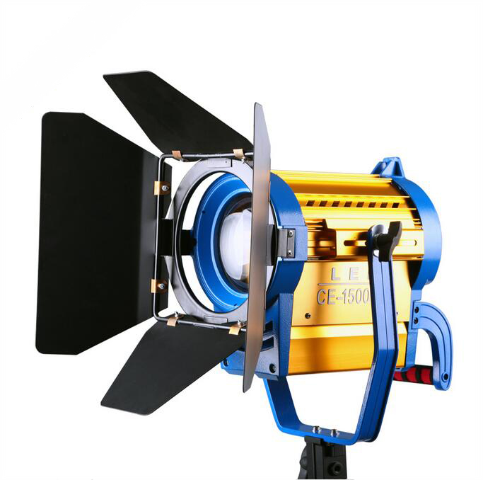 NiceFoto CE 1500ws LED Fresnel light Photographic Equipment 150W