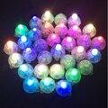 400 Unids DHL Blanco Bola Redonda Del Led Lámparas Luces Globo Multicolor RGB Luces de Destello para el Partido Decoración de la Boda 6 Colores 2016 Nuevo