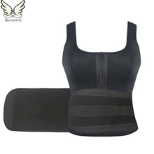 Trainer cintura modelagem alça de neoprene fino cinto corset shaper emagrecimento abdômen slimming body shaper shapewear perder peso quente
