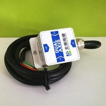 BWK226S Sensor de Ângulo de Inclinação Inclinômetro Eixo Duplo com Precisão de 0.2 Graus Resolução 0.02 Graus RS232/RS485/TTL (opcional)