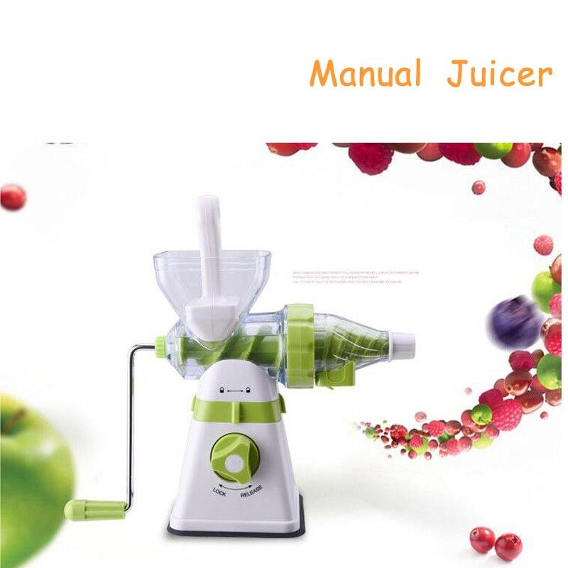 2017 New Upgrade Manual Juice Squeezer Desktop Blender Multi-Function Household Juice Maker Ice Cream Machine glantop 2l smoothie blender fruit juice mixer juicer high performance pro commercial glthsg2029