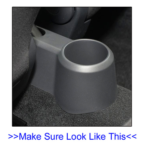 Image 3 - Merkezi konsol VW Up 2009   2017 çift saklama kutusu deri kol dayama 2010 2011 2012 2013 2014 2015 2016 fincan tutucu