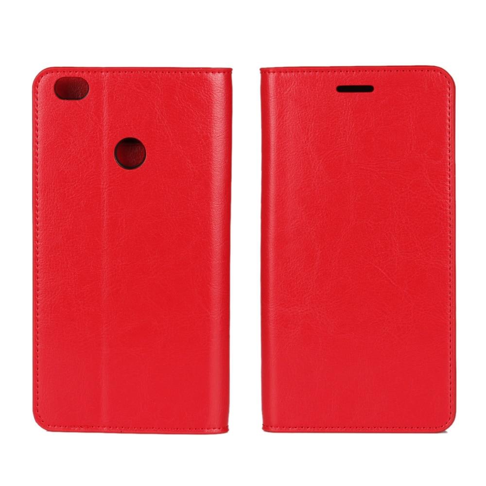 Business Crazy Horse Funda de cuero genuino para Xiaomi Max Mi Max - Accesorios y repuestos para celulares - foto 5