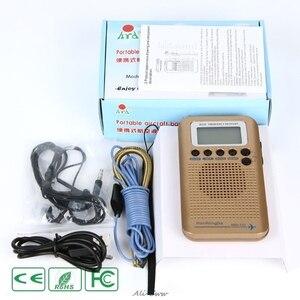 Image 5 - HRD 737 digital display lcd rádio banda completa portátil fm/am/sw/cb/ar/vhf mundo banda receptor estéreo rádio com despertador