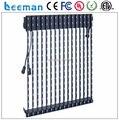 Leeman P37.5 светодиодная лента занавес дисплей, И на открытом воздухе мягкая / гибкие светодиодные полосы занавес xxx видео