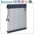 Leeman P37.5 led strip curtain display, indoor&outdoor soft/flexible led strip curtain xxx video