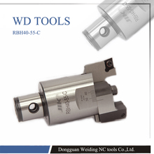 RBH40-55-C high-accuracy RBH Twin-bit Rough Boring Heads used for deep holes made in China