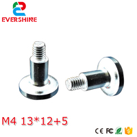 100pcs/lot Magnet screw thread M4 magnetic column Cylinder for outdoor smd led display sigle double color and full color module|threading thread|led module smd|led smd module -