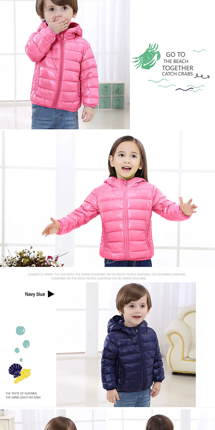 HTB18duSlrZnBKNjSZFhq6A.oXXab - Children Down Jackets New 90% White Duck Down Hooded Kids Winter Jackets for Boys Girls Ultra Light Portable Winter Coat
