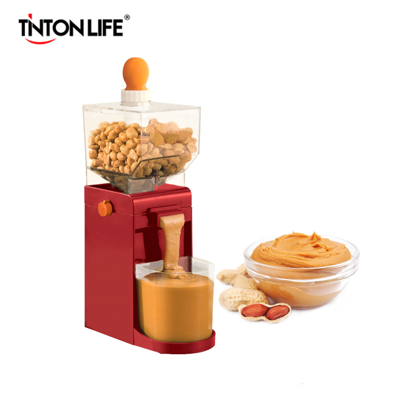 TINTON LIFE Electric Small Grinder Machine Household Electric Peanut Butter Maker Food Processors udmj 150 grain butter making machine cereal butter maker with motor