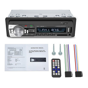 Image 5 - بلوتوث استقبال الصوت مشغل MP3 راديو FM 1 الدين في داش USB/SD/AUX أدوات إلكترونية للسيارات مع جهاز التحكم عن بعد سيارة مشغل إستريو 12 فولت