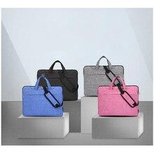 Nowy Litthing pojemna na laptop torebka dla mężczyzn biznes kobiety teczka podróżna notebook torba na macbooka Pro 17 18 Cal PC