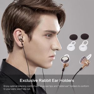 Image 2 - 1MORE EO320 Piston Earphone for phone with Mic In Ear Bests Wired Earphones for Android & iOS Mobile Phones Xiaomi 1MORE DESIGN