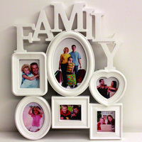 Home Decoration Photo Frame Europe Style Creative 6 Box Family Combination Photo Frame For Picture 3D