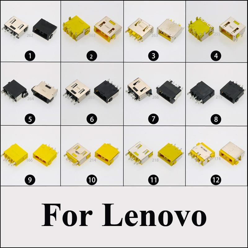 DC Power Jack Connector for LENOVO G500 G505 Z501 YOGA X1 11 13 G700 G710 S500 S500T Z710 FLEX 14 FLEX 15 DC JACK Square mouth in Connectors from Lights Lighting