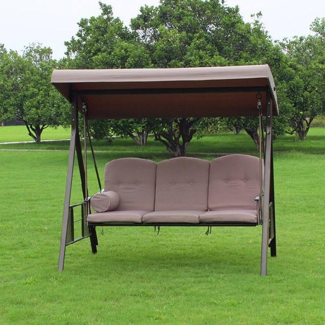 Sillas colgantes para jardin cheap silla colgante tipo for Mecedora terraza