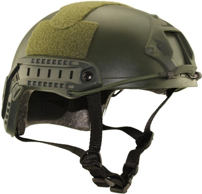 Prix pour Tactique de Chasse En Plein Air Équipement de Protection USMC MH type Rapide Casque Simple Armée Casques Vélo Vélo Militaire Airsoft Tournage Casque