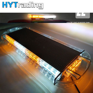 "Image 1 - 22"" 40 LED Car Lights Strobe Lights Tow Truck Emergency Warning Beacon Strobe Flash Lights Bar Green/Amber/Blue/Red"