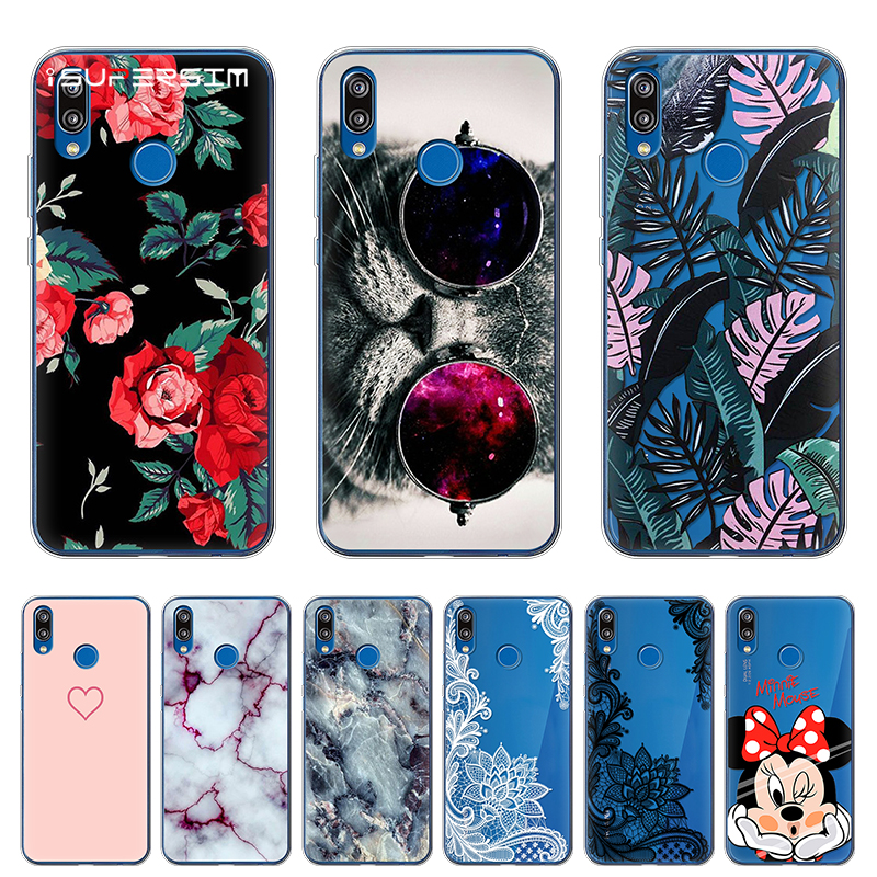 for Huawei P20 Lite Case Cover Soft Silicone TPU for P20 Lite Case Patterned Phone Back Protective Cases for Huawei P20 Lite