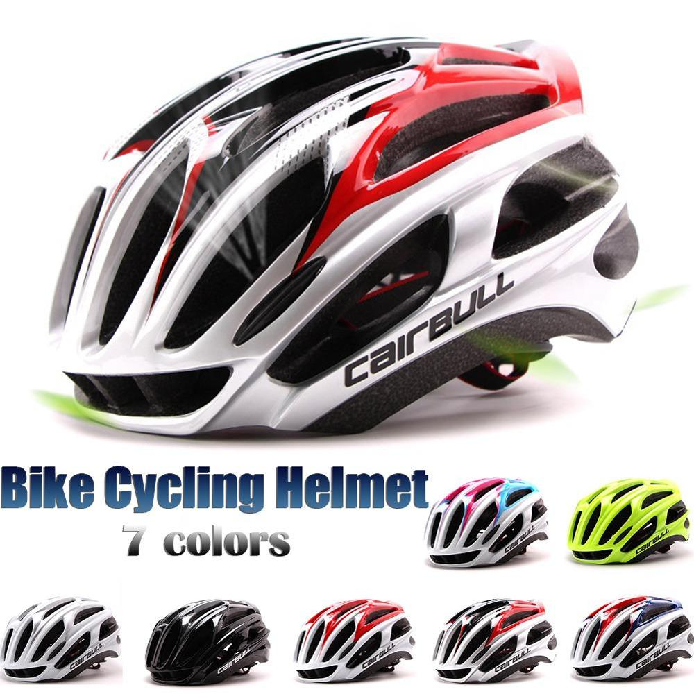 Cairbull capacete da bicicleta macio ultraleve ciclismo capacetes eps integralmente moldado capacete da bicicleta cabeça casco
