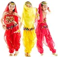 Kids Belly Dance Costumes Wear Children Dance Clothes Bellydance for Girls Gift Indian Dress 3 Colors 2-6/set Bellydance Clothes
