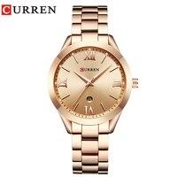 Jewelry Gifts For Women S Luxury Gold Steel Quartz Watch Curren Brand Women Watches Fashion Ladies