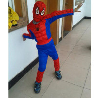 Children Muscle Super Hero Spiderman Kids Halloween Costume The Spider Man Mask Classic Masquerade Party Clohing