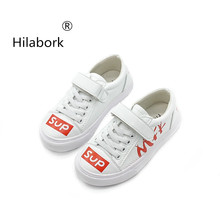 Hilabork Boys breathable sports shoes 2018 new spring and autumn boys and girls  casual shoes non 7687eb947309