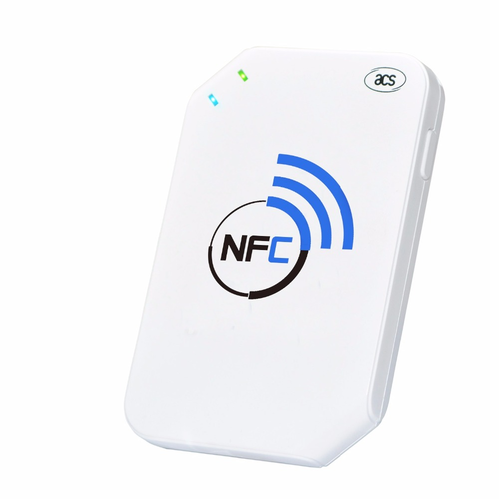ACR1255U-J1 NFC Secure Bluetooth NFC Reader The Latest 13.56 MHz Contactless Technology With Bluetooth Smart Connectivity
