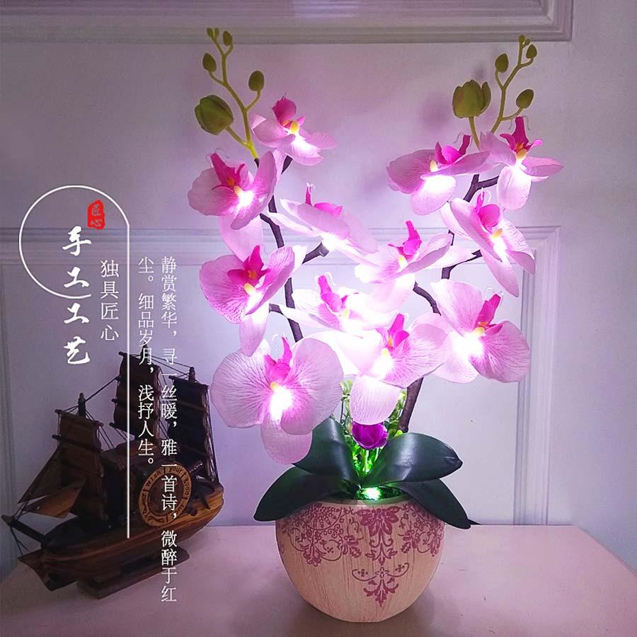 New arrival flower light for the best christmas lights gift creative desk lamp led light wedding