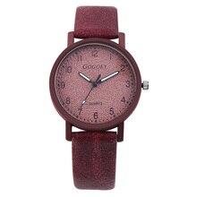 Dámské hodinky v semišovém stylu