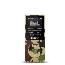 "Original RUIZU X02 HiFi Reproductor de Música MP3 8 GB Deporte MP3 1.8 ""Pantalla TFT con Radio FM, Grabadora de voz, e-libro, reloj, datos"