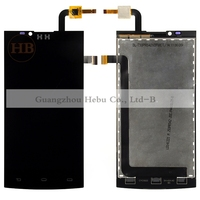 Free Shipping 1pcs HH S398 LCD Display With Touch Screen Digitizer Assembly For Philips Xenium S398
