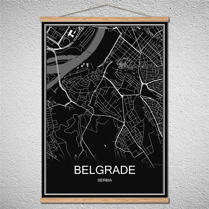 US $4.99 |With Frame BELGRADE Modern World map City poster Abstract on modern china map poster, modern world map decal, modern germany poster, modern space map poster, modern world map print, modern travel poster, modern wall art, modern world map design, modern world map canvas, modern art poster,