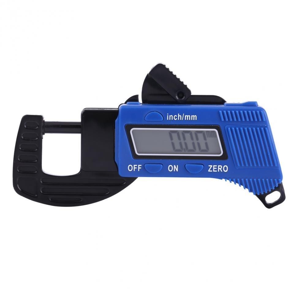 0-12mm Digital Lcd Dickenmessgerät Sattel Meter Breite Messwerkzeuge Dicke Tester Mikrometer Für Batterie Magnetische Materialien Klar Und Unverwechselbar