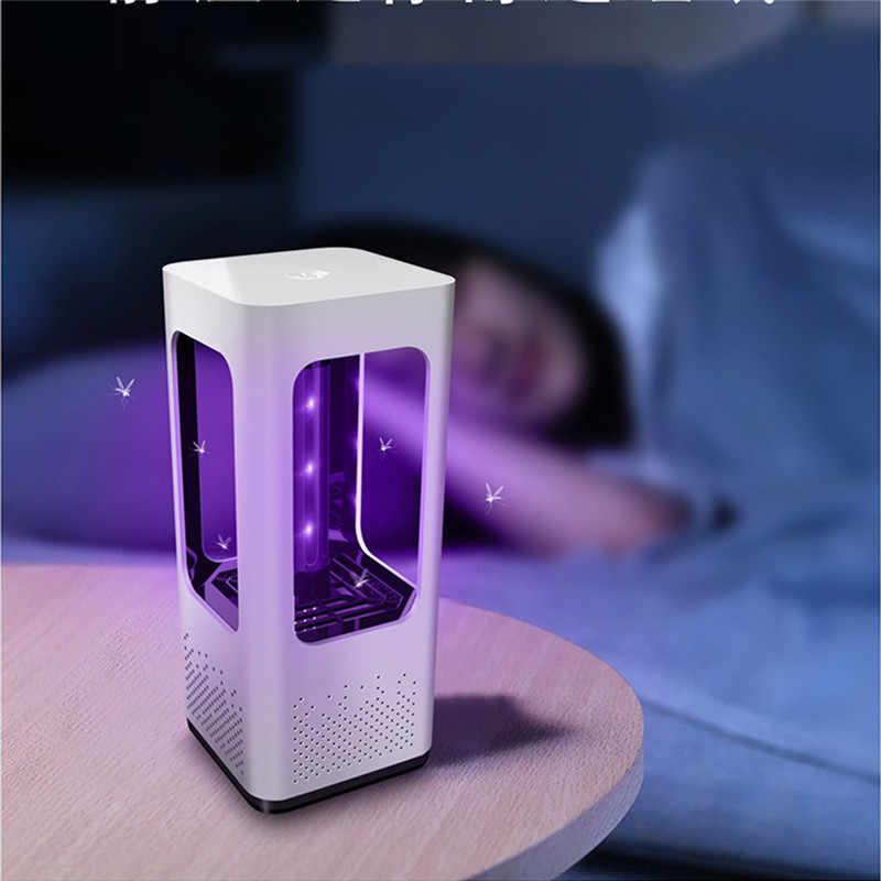 USB антимоскитная лампа в детскую комнату дома светодиодный фотокаталитическое средство от москитов безрадиационный репеллент USB Ингаляционная лампа
