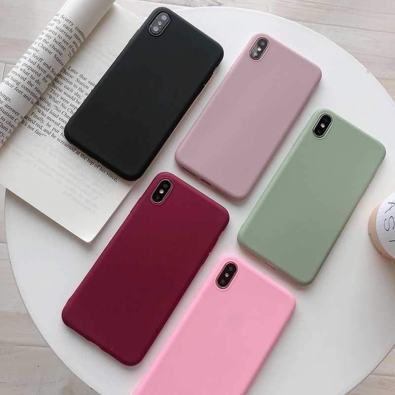 Capa de telefone tpu macia para oppo r9 r9s r11 r11s plus r17 a57 a59 a73 a83 a3 a5 a7 a9 a7x k1 r15 sonho reno 10x zoom capa matte